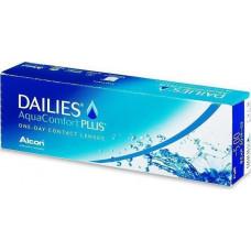 Dailies AquaComfort Plus ΗΜΕΡΗΣΙΟΙ ΦΑΚΟΙ ΕΠΑΦΗΣ ΜΥΩΠΙΑΣ-ΥΠΕΡΜΕΤΡΩΠΙΑΣ 30 ΤΕΜΑΧΙΑ