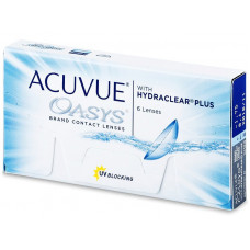ACUVUE OASYS   ΔΕΚΑΠΕΝΘΗΜΕΡΟΙ ΦΑΚΟΙ ΕΠΑΦΗΣ ΜΥΩΠΙΑΣ- ΥΠΕΡΜΕΤΡΩΠΙΑΣ 6 ΤΕΜΑΧΙΩΝ