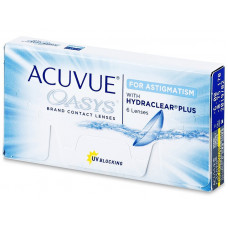 ACUVUE OASYS for astigmatism  ΔΕΚΑΠΕΝΘΗΜΕΡΟΙ ΦΑΚΟΙ ΕΠΑΦΗΣ ΑΣΤΙΓΜΑΤΙΣΜΟΥ 6 ΤΕΜΑΧΙΩΝ