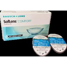 Bausch & Lomb Soflens comfort  ΜΗΝΙΑΙΟΙ ΦΑΚΟΙ ΕΠΑΦΗΣ  ΜΥΩΠΙΑΣ - ΥΠΕΡΜΕΤΡΩΠΙΑΣ 6ΤΕΜΑΧΙΩΝ ΚΑΙ 2 ΤΕΜΑΧΙΑ ΔΩΡΟ