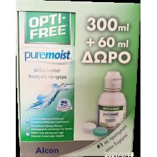 Alcon Opti free pure moist 300ml + 60ml δώρο